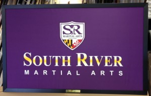 South River Martial Arts Flag